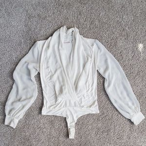 Ivory Mila bodysuit by Eva Mendes